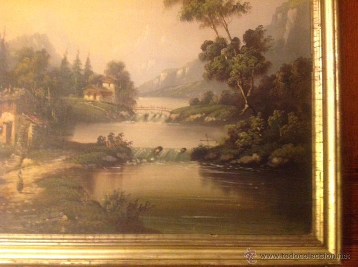 Arte: conjunto de cuatro cuadros oleo sobre lienzo paisajes - Foto 24 - 54518808