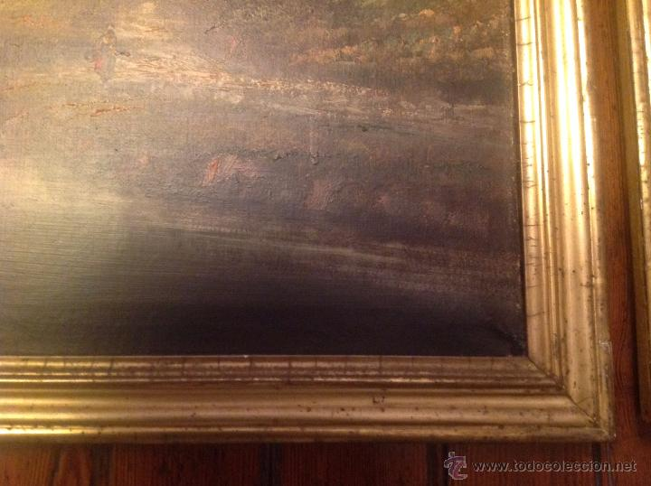 Arte: conjunto de cuatro cuadros oleo sobre lienzo paisajes - Foto 27 - 54518808