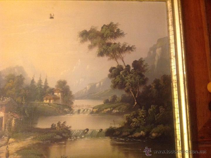 Arte: conjunto de cuatro cuadros oleo sobre lienzo paisajes - Foto 28 - 54518808
