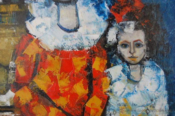 Arte: JORDI BONÁS ( *1937, Barcelona ) - PINTURA EXPRESIONISTA - Foto 4 - 26425101