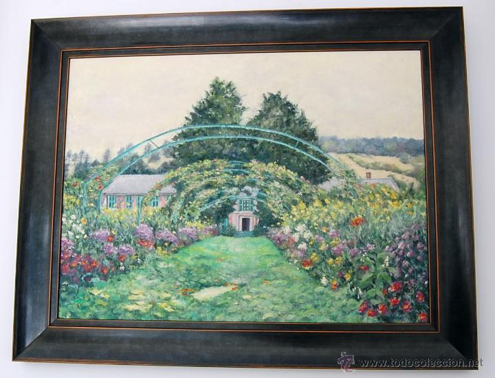 GIVERNY: CASA-JARDIN DEL PINTOR CLAUDE MONET (FRANCIA, 1840-1926) (Arte - Pintura - Pintura al Óleo Moderna sin fecha definida)