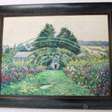 Arte: GIVERNY: CASA-JARDIN DEL PINTOR CLAUDE MONET (FRANCIA, 1840-1926). Lote 54625986
