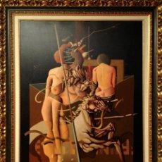 Arte - Cuadro óleo del pintor RICARD JORDÀ original pieza de colección - 54629563