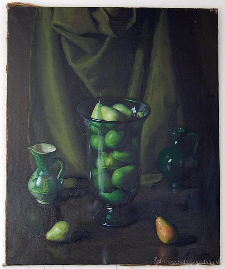FERNANDO BRIONES CARMONA (1905-1988). ECIJA ( SEVILLA ) (Arte - Pintura - Pintura al Óleo Moderna sin fecha definida)