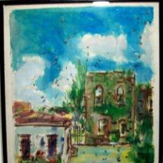 Arte: JOSÉ CESTERO-ESTUPENDA OBRA OLEO/LIENZO DEL PINTOR DOMINICANO MEDIDAS 80 X 105 FIRMADA Y FECHADA. Lote 54658156