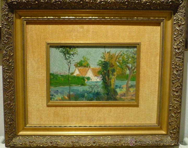 PAISAJE DE LA ALBUFERA POR EL PINTOR VALENCIANO ERNESTO VALLS (1891-1941) (Arte - Pintura - Pintura al Óleo Moderna sin fecha definida)