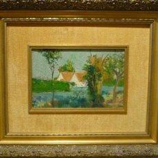 Paisaje de la albufera por el pintor valenciano comprar - Pintor valenciano ...