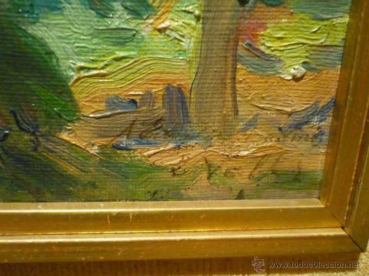Arte: PAISAJE DE LA ALBUFERA POR EL PINTOR VALENCIANO ERNESTO VALLS (1891-1941) - Foto 3 - 54693442