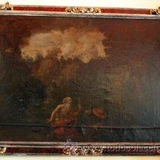 Arte: ESCUELA FLAMENCA SIGLO XVII. SAN JERÓNIMO. Lote 54750837
