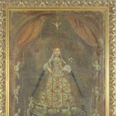 Arte: F3-032. VIRGEN DE LA MERCE. ÓLEO SOBRE LIENZO. ESTILO BARROCO. SIGLO XVIII.. Lote 52997075