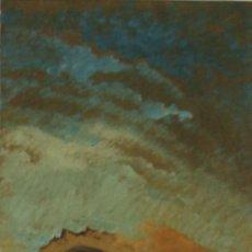 Arte: N3-014. SAN JOSE Y EL NIÑO. ÓLEO SOBRE TABLA. FIRMADO GORGUES. 1964.. Lote 53083945