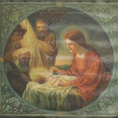 Arte: N5-109. TAPIZ. ESCENA BIBLICA. ÓLEO SOBRE TAPIZ. FIRMADO G. CASAS. 1927.. Lote 52359072