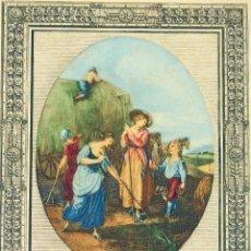 Arte: GRABADO. JUNE.DE F. BARTOLOZZI.DE UN ORIGINAL DE W HAMILTON.INGLATERRA XVIII-XIX. Lote 49556515