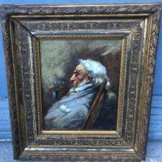 Arte: ULPIANO CHECA Y SANZ (1860-1916) PINTOR ESPAÑOL - ÓLEO SOBRE MADERA. Lote 54841815