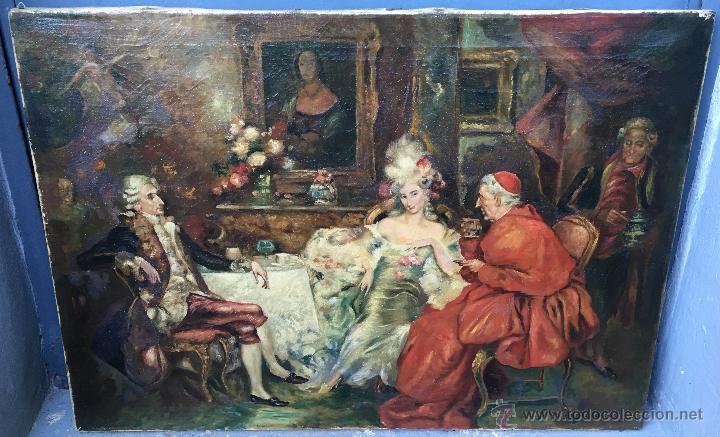 AUGUST STEPHAN SEDLACEK (1868-1936) PINTOR AUSTRÍACO - ÓLEO SOBRE TELA (Arte - Pintura - Pintura al Óleo Moderna sin fecha definida)