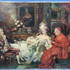 Arte: AUGUST STEPHAN SEDLACEK (1868-1936) PINTOR AUSTRÍACO - ÓLEO SOBRE TELA. Lote 54843310