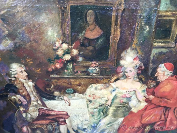 Arte: August Stephan Sedlacek (1868-1936) Pintor Austríaco - Óleo sobre tela - Foto 2 - 54843310