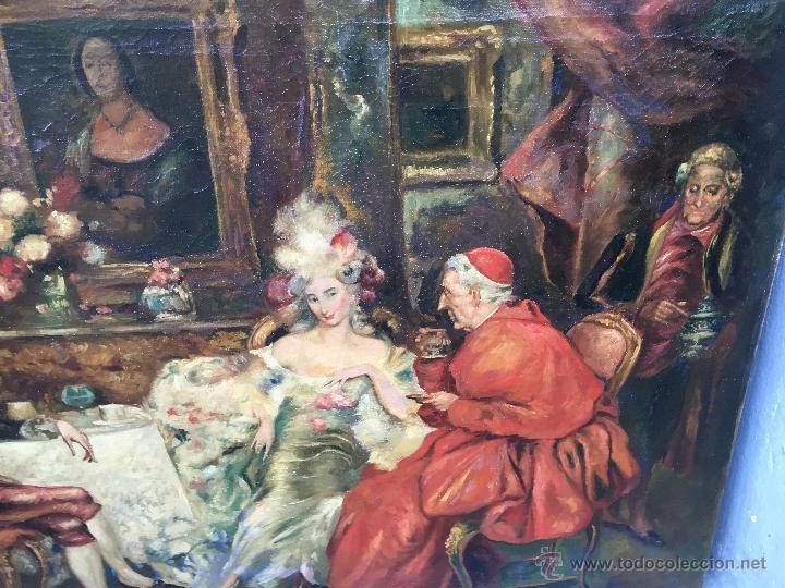 Arte: August Stephan Sedlacek (1868-1936) Pintor Austríaco - Óleo sobre tela - Foto 3 - 54843310