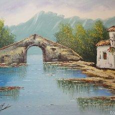 Arte: OLEO SOBRE LIENZO ORIGINAL. Lote 54852822