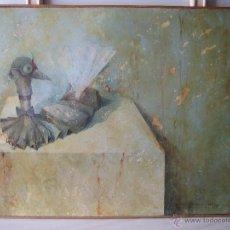 Kunst - Bonito cuadro al óleo en tabla. Autor Jesus Cortés Caminero ( Puertollano) Ciudad Real. M 82x65cm - 54913653