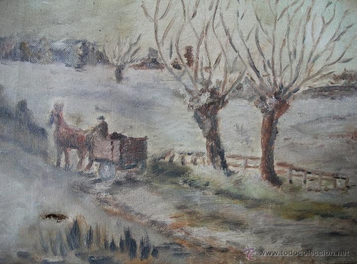 Arte: Oleo sobre lienzo s.XIX - Foto 5 - 36418811