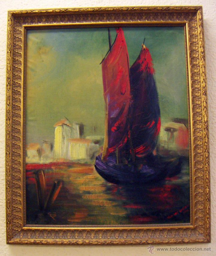 OLEO FIRMADO VAN DER VERDEN 1948 (Arte - Pintura - Pintura al Óleo Contemporánea )
