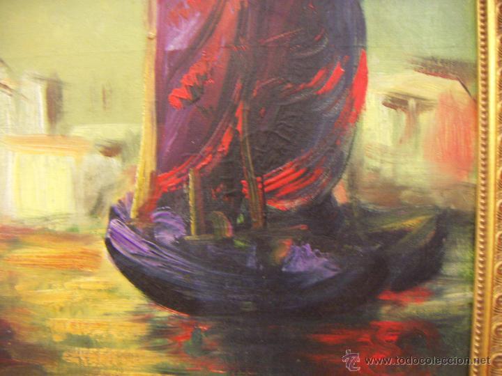 Arte: Oleo firmado Van Der Verden 1948 - Foto 2 - 55001606