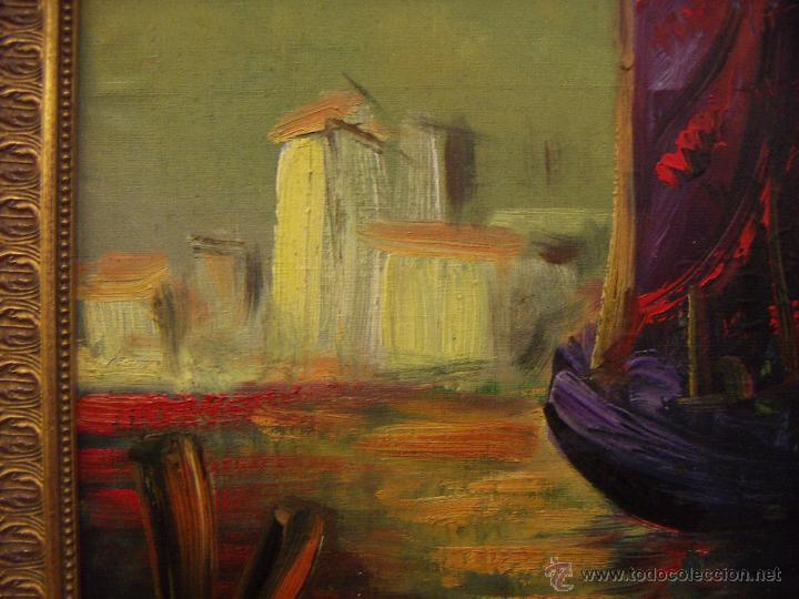 Arte: Oleo firmado Van Der Verden 1948 - Foto 5 - 55001606