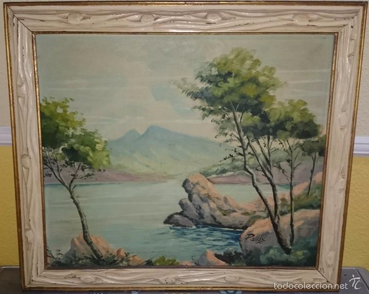 Cuadro oleo sobre lienzo pintor valenciano sal comprar - Pintor valenciano ...