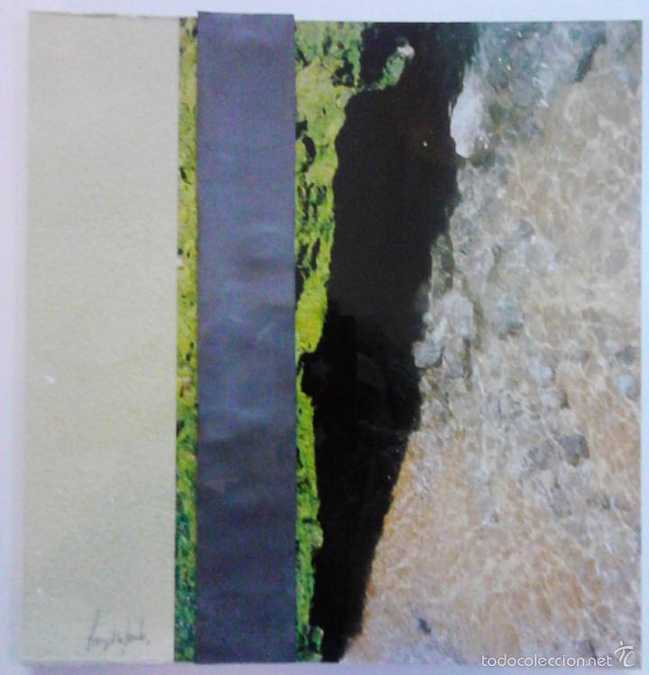 Arte: Pintura SANZ de la FUENTE. BURGOS Collage de pintura, fotografía y plomo. 24 x 25 cm. - Foto 4 - 55144840