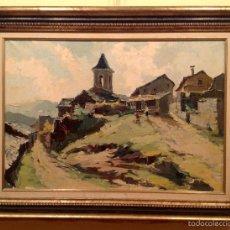 Arte: CUADRO DEL PINTOR GALOBARDES CARBONELL, FRANCESC. Lote 55367619