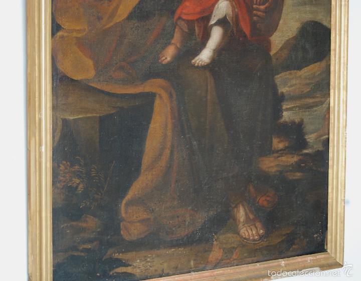 Arte: Seguidor de Murillo - ESCUELA SEVILLANA DEL SIGLO XVII o ppios. XVIII - Foto 6 - 55493661