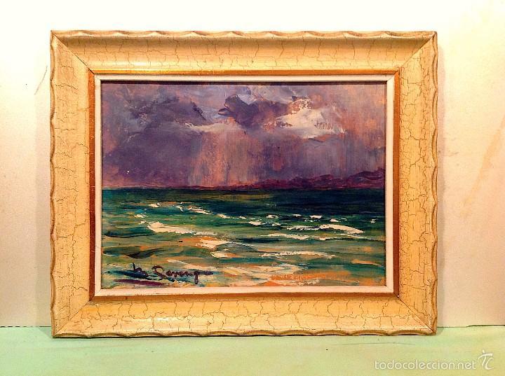 ÓLEO DE MARÍA REVENGA SANCHO ( MADRID,1901-1988 ) SU OBRA ESTÁ EN EL MUSEO DE MÁLAGA (Arte - Pintura - Pintura al Óleo Contemporánea )