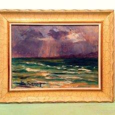 Arte: ÓLEO DE MARÍA REVENGA SANCHO ( MADRID,1901-1988 ) SU OBRA ESTÁ EN EL MUSEO DE MÁLAGA. Lote 55571681