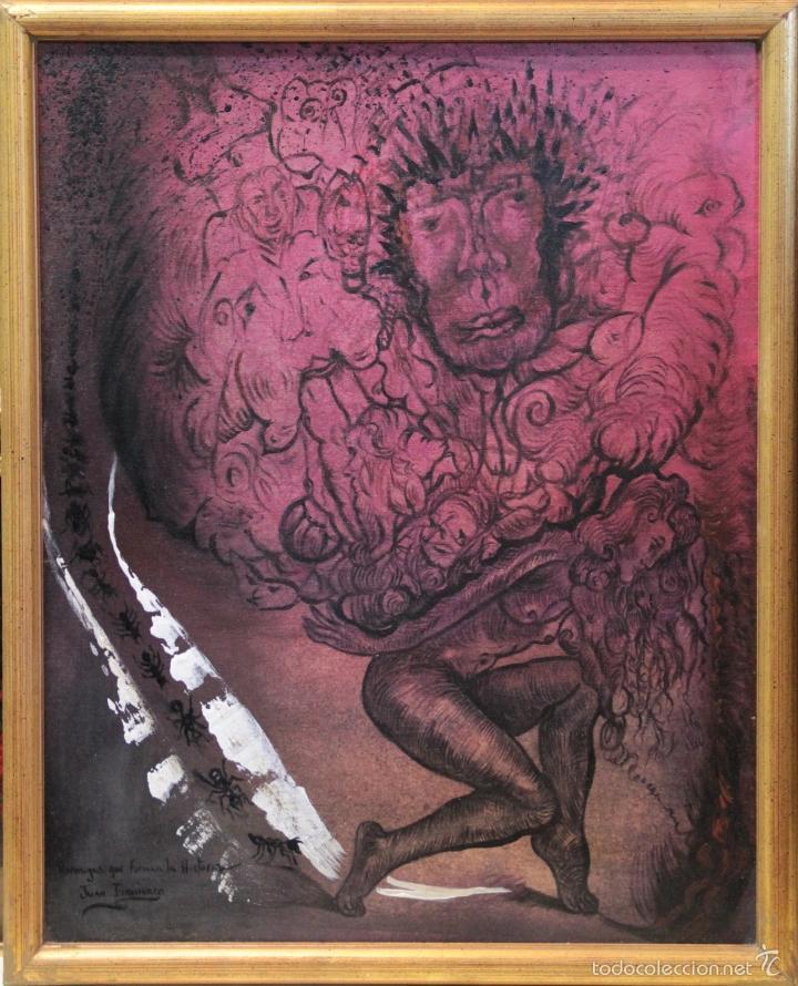 JUAN IZQUIERDO-PERSONAJES (Arte - Pintura - Pintura al Óleo Contemporánea )