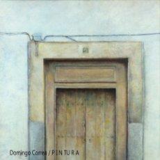 Arte: DOMINGO CORREA. 'PUERTA DE CÓRDOBA' ÓLEO / TABLA. PAISAJE URBANO.. Lote 30868670