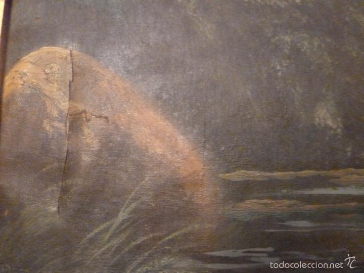 Arte: oleo sobre lienzo pescador - Foto 3 - 55976770