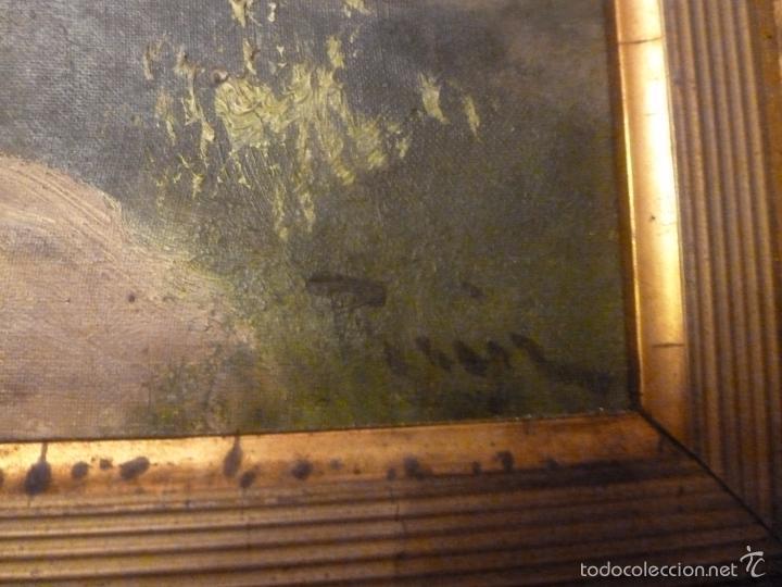 Arte: oleo sobre lienzo pescador - Foto 5 - 55976770