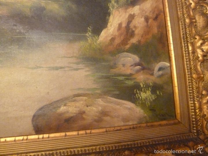 Arte: oleo sobre lienzo pescador - Foto 6 - 55976770