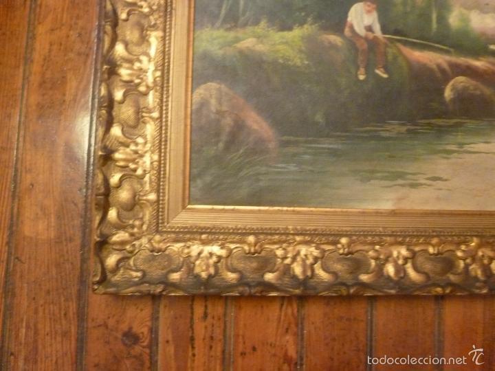 Arte: oleo sobre lienzo pescador - Foto 9 - 55976770