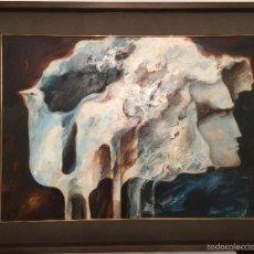 Arte: JOSEP BAQUES PRECIOSO OLEO SOBRE TABLA. Lote 55999225