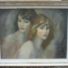Arte: VICENTE PUIG (1882-1965) PINTOR ESPAÑOL - ÓLEO SOBRE TELA. Lote 56080025
