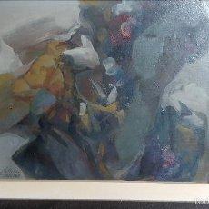 Arte: OLEO DEL PINTOR DANIEL MERINO (MADRID, 1941-2011). Lote 56106914