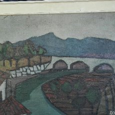 Arte: OLEO DE GRAN TAMAÑO DE SEFA FERRE. Lote 56165146