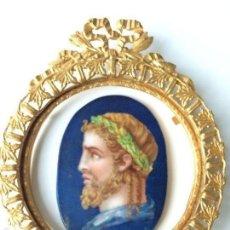 Arte: PINTURA ESMALTADA SOBRE PORCELANA C.1830. Lote 56170499