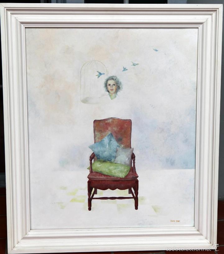 LAURA SAURÍ, ÓLEO SOBRE TABLA, 46X55 CM ENMARCADO (Arte - Pintura - Pintura al Óleo Contemporánea )