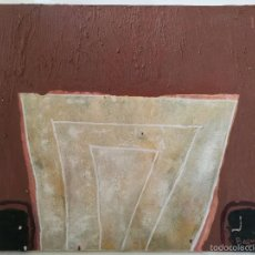 Arte: OBRA DE JOSÉ IGNACIO BAQUÉ CALVO - ABSTRACCIÓN - OLEO SOBRE LIENZO - FIRMADA POR EL AUTOR. Lote 56213916
