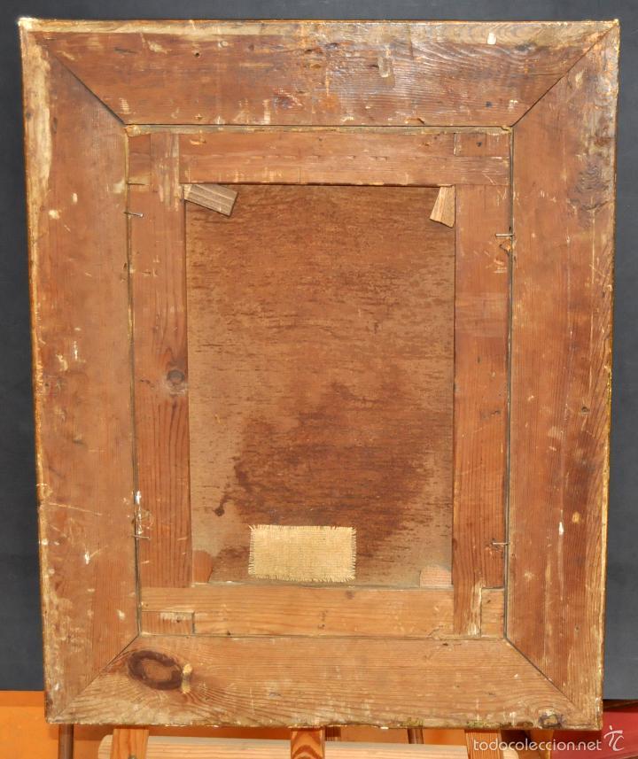 Arte: LEON COMMELERAN (Perpignan, 1830 - Barcelona, activo en 1886) OLEO TELA. MARINA CON PESCADORES - Foto 8 - 56232631