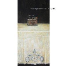 Arte: DOMINGO CORREA. 'ENCAJE PARA UNA PLANCHA' ÓLEO / TABLA. 49 X 107 CM. PINTURA REALISMO.. Lote 42920137