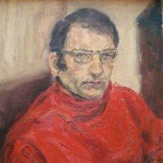 Arte - Ilegible oleo/lienzo 65 x 50 cm, firmado y fechado 1968 - 107415438
